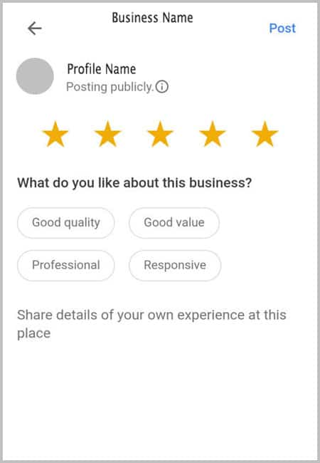 write a review on iphone